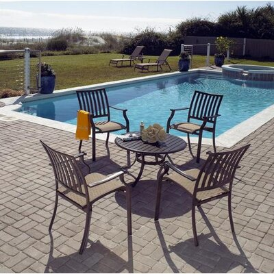 Panama Jack Outdoor Island Breeze 5 Piece Dining Set