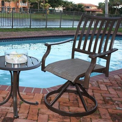 Panama Jack Outdoor Island Breeze Swivel Rocking Dining Arm Chair