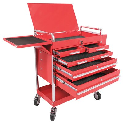 Power Station 5 Drawer Locking Service Cart