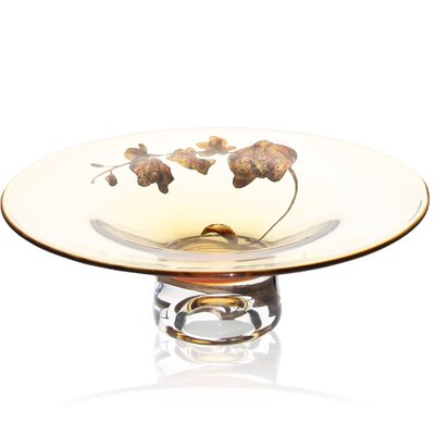 Womar Glass Orchid Bowl