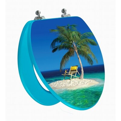 Topseat 3D Series Elongated Beach Toilet Seat
