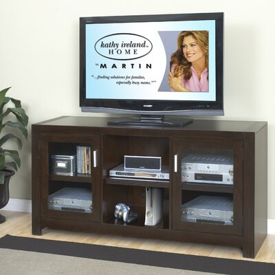 "kathy ireland Home by Martin Furniture Carlton Entertainment 60"" TV Stand"