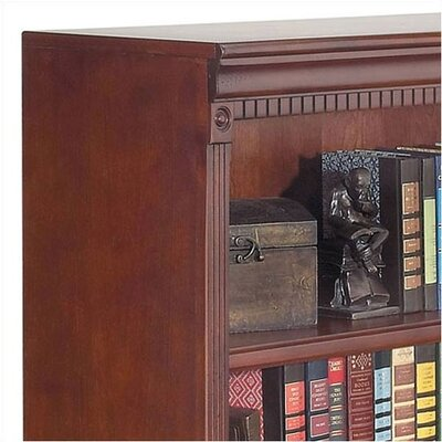 "kathy ireland Home by Martin Furniture Huntington Club 48"" H Four Shelf Bookcase"
