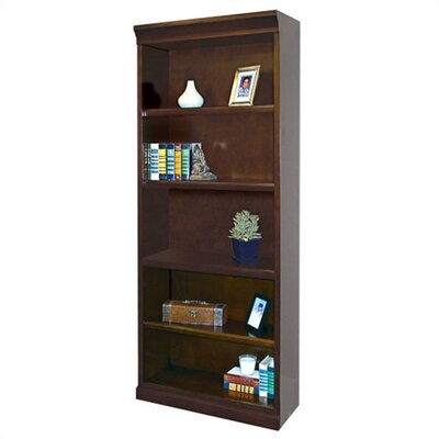kathy ireland Home by Martin Furniture Fulton 5-Shelf Open Bookcase