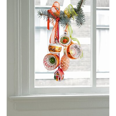 Oots Limited Christmas Edition Window Decals in Orange