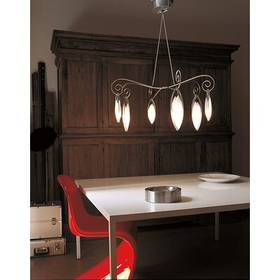 Terzani Creole De ToI Six Light Pendant