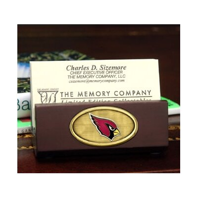 The Memory Company NFL Business Card Holder