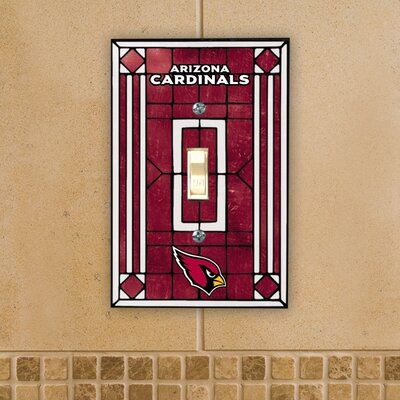 The Memory Company NFL Art Glass Switch Cover