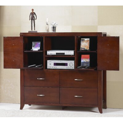 Modus Furniture Brighton 4 Drawer Media Chest
