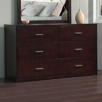 Modus Furniture Modera 6 Drawer Dresser