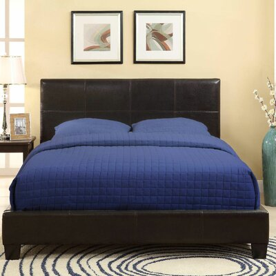 Ledge Platform Bed with Optional Headboard