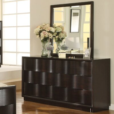 Modus Furniture Modus Maui Wave 6 Drawer Dresser