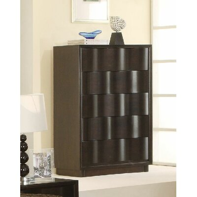 Modus Furniture Modus Maui Wave 5 Drawer Chest