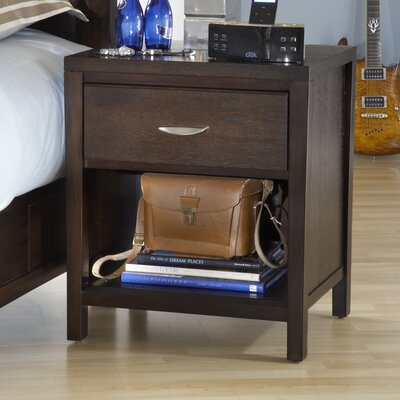 Modus Furniture Urban Loft 1 Drawer Nightstand