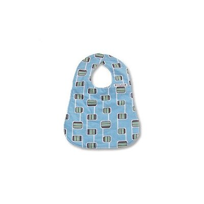 Baby Star Bib in Hopscotch Blue