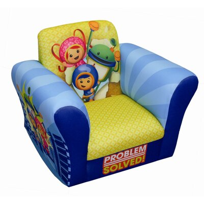 Nickelodeon Team umizoomi Problem Solved Kid's Rocking Chair