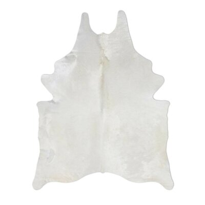 Pure Rugs Natural Cowhide Ivory Rug