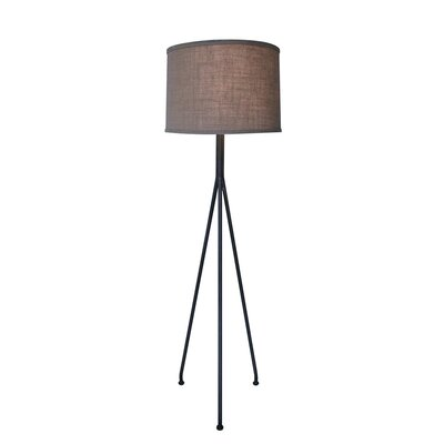 Noir Tripod 1 Light Floor Lamp