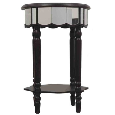 J. Hunt Home Mirrored End Table
