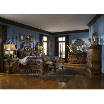 Michael Amini Sovereign Wooden Bedroom Bench