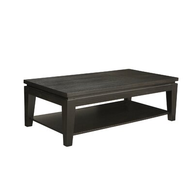 Asia Coffee Table with Shelf