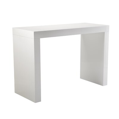 Sunpan Modern Faro High Gloss C-Shape Bar Table
