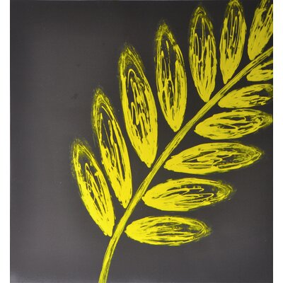 Sunpan Modern Leaf Wall Art