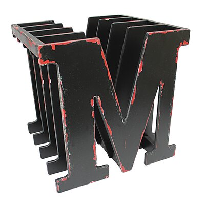 Vita V Home M for Magazine Rack - Black Finish