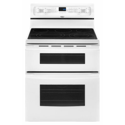 "Whirlpool 30"" Resource Saver Double Oven Freestanding Electric Range"