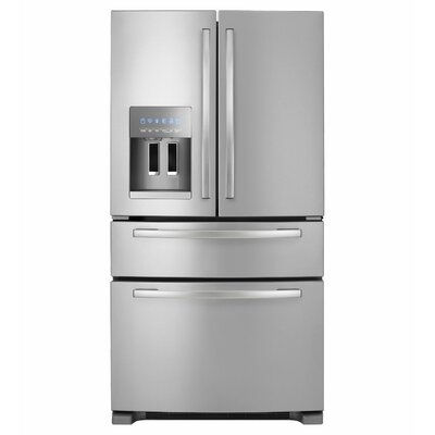 Whirlpool 25 cu. ft. Energy Star Qualified 4-Door French Door Refrigerator