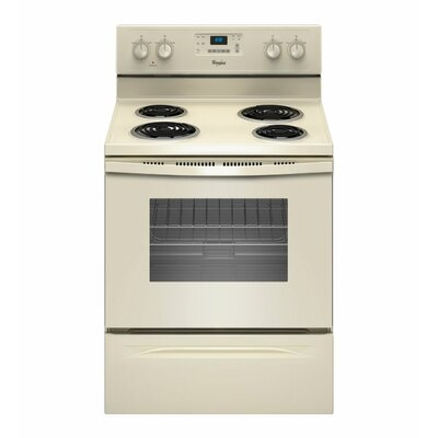 Whirlpool 4.8 cu. ft. Accubake Temperature Management System Electric Range