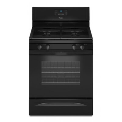 Whirlpool 5.0 cu. ft. 15,000 BTU Power Burners Gas Range