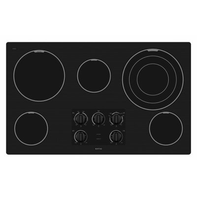 "Maytag 36"" Two Power Cook Burners Electric Cooktop"