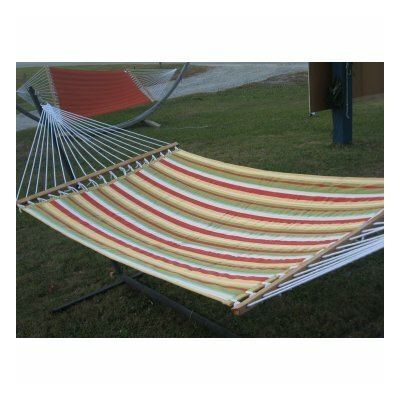 Quilted Hammock with Stand