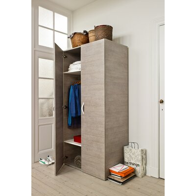 didit Click Furniture 2 Door Armoire