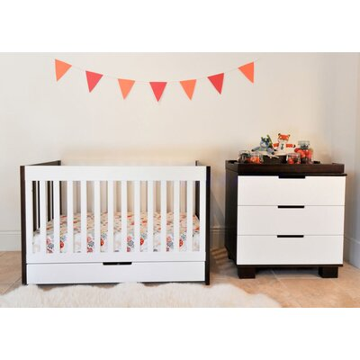 babyletto Mercer 3-in-1 Convertible Crib with Toddler Rail