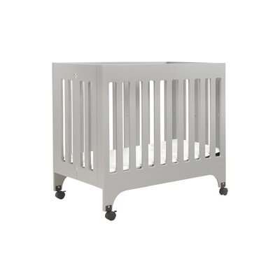 babyletto Grayson Mini Crib with Pad and Mini Crib Mattress