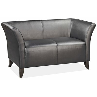 OfficeSource Scottsdale Leather Loveseat