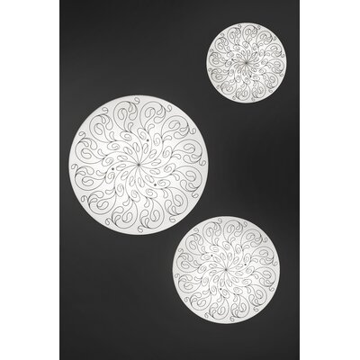 Masiero Deco 2 Light Flush Mount