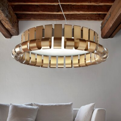 Masiero Dore 1 Light Drum Pendant