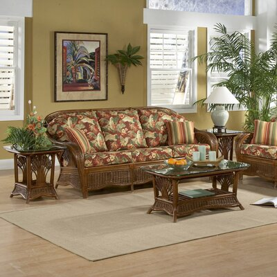 Wildon Home ® Palm Cove Coffee Table Set