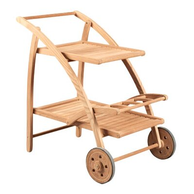 HiTeak Furniture Tea Serving Cart