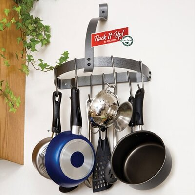 Enclume RACK IT UP! Half Moon Wall Mounted Pot Rack