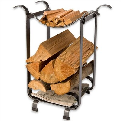 Three-in-One Steel Log Rack