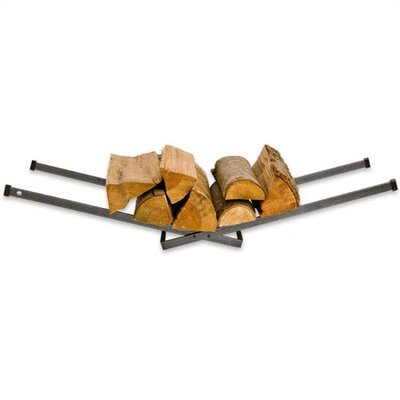 Steel Right Angle Porch Log Rack