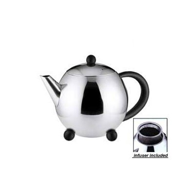 Cuisinox 32 Oz Teapot with Black Handle