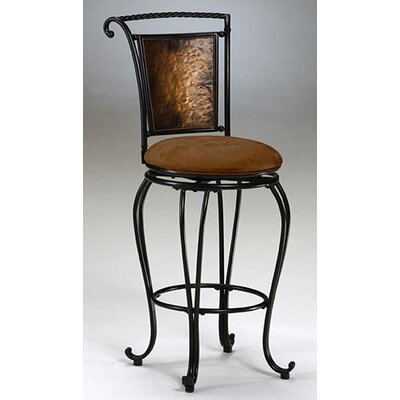 "Hillsdale Furniture Milan 26"" Swivel Counter Stool"