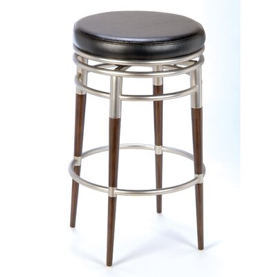 "Hillsdale Furniture Salem 26"" Backless Swivel Counter Stool"
