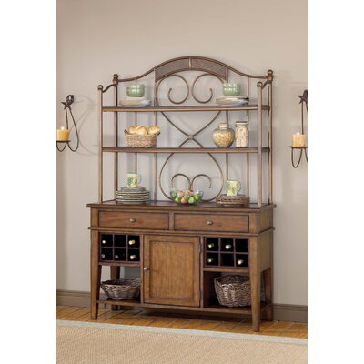Hillsdale Furniture Villagio Server and Hutch