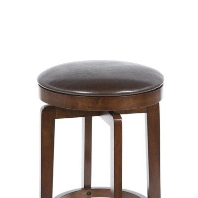 Hillsdale Furniture O'Shea Backless Bar Stool in Brown Cherry